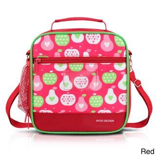 Jacki Design Kids Large Insulated Lunch Bag (Option: Red)