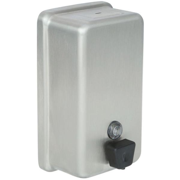 Delta Vertical Wall-Mount Liquid Soap Dispenser in Stainless 44080-SS