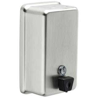 Delta Commercial Stainless Steel Vertical Liquid Soap Dispenser 44080-SS Brushed Stainless Steel