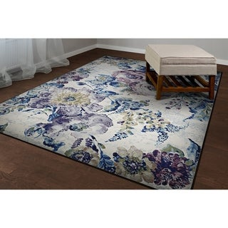 Couristan Easton Multicolored Polypropylene Floral Rug (2' x 3'7)