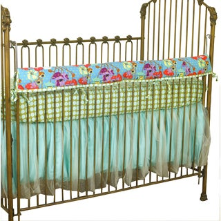 Cotton Tale Lagoon Floral Front Rail Cove-up
