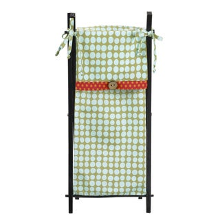 Cotton Tale Lagoon Multicolore Wood/Cotton Hamper