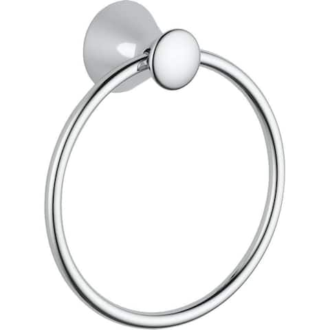 Delta Lahara Towel Ring 73846 Chrome