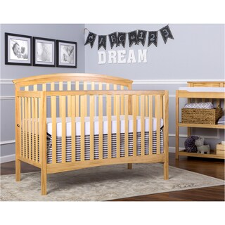 Dream On Me Eden Natural 5-in-1 Convertible Crib