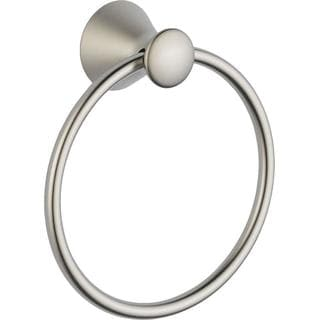Delta Linden Towel Ring In Champagne Bronze 79446 Cz