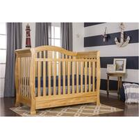 Dream On Me Addison 5-in-1 Convertible Crib with Storage - Natural