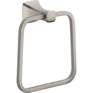 Delta Tesla Closed Towel Ring in Stainless 75246-SS