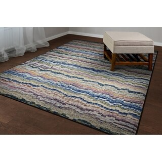 Couristan Easton Shimmering Multicolored Polypropylene Rug (2' x 3'7)