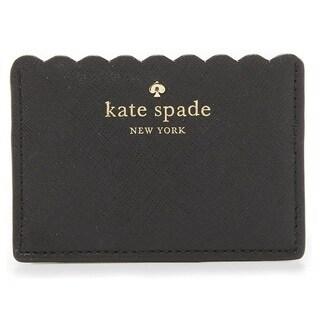 Kate Spade New York Cape Drive Black/Bright White Credit Card Holder