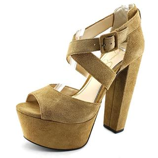 Jessica Simpson Women's 'Derian' Regular Suede Dress Shoes