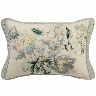 Waverly Fleuretta Oblong Embroidered Throw Pillow