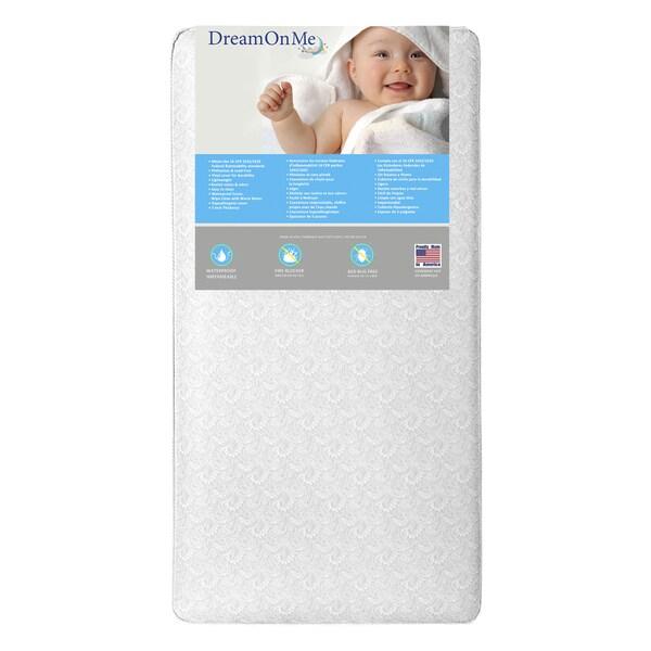 Dream On Me Bon Nuit 252 Coil Crib And Toddler Mattress 21204182