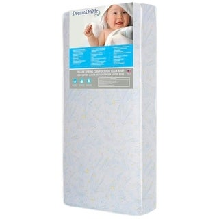 Dream On Me Stars Bright Crib and Toddler 180 Coil Mattress