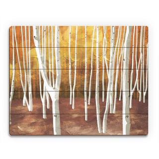 'Autumn Forest' Wood Wall Art