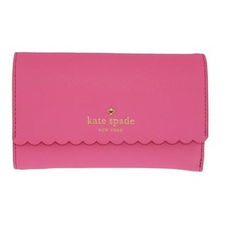 Kate Spade Cape Drive Kieran Tulip Pink/Bright Papaya Wallet