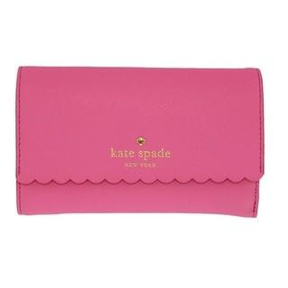 Kate Spade Cape Drive Kieran Tulip Pink/Bright Papaya Wallet