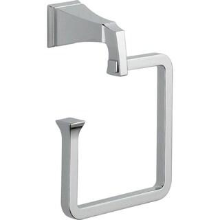 Delta Dryden Towel Ring in Chrome 75146