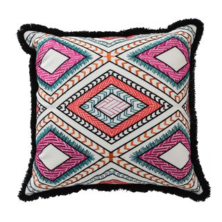 Blissliving Home Poncho Cotton 18-inch Throw Pillow