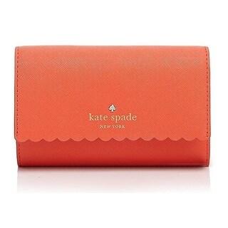 Kate Spade Cape Drive Kieran Bright Papaya/Pink Blush Wallet