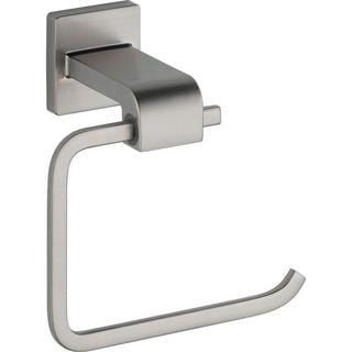 Delta Arzo Single Post Toilet Paper Holder in Stainless 77550-SS