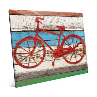 Rustic Bicycle Multi Wall Art on Acrylic