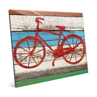 Rustic Bicycle Multi Wall Art on Acrylic