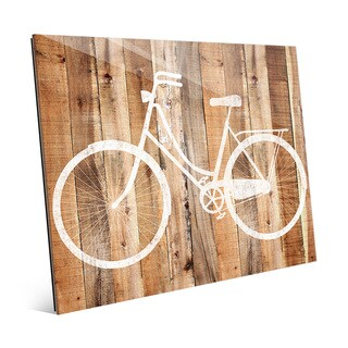 Bicycle Acrylic on Wood Wall Art