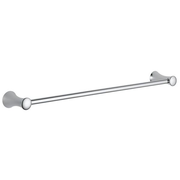 Delta Lahara Polished Chrome Towel Bar 24 in. L Stainless Steel