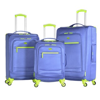 Olympia Aurora 3-piece Expandable Spinner Luggage Set