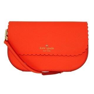 Kate Spade New York Cape Drive Jettie Bright Papaya/Pink Blush Crossbody Handbag