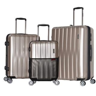Olympia Maverick 3-piece Expandable Hardside Spinner Luggage Set