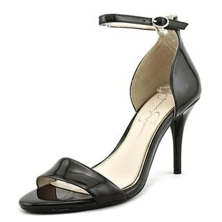 Jessica Simpson Women's 'Mirena' Black Patent Leather Dress Shoes