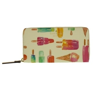 Kate Spade Cedar Street Ice Pop Lacey Leather Wallet