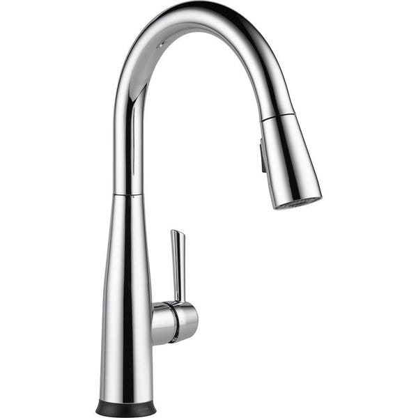 Shop Delta Essa Single Handle Pull Down Kitchen Faucet With Touch2o