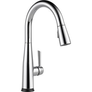Delta Essa Touch2O Technology Single-Handle Pull-Down Sprayer Kitchen Faucet in Chrome w/ MagnaTite Docking 9113T-DST