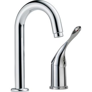 Delta Commercial Single-Handle Bar Faucet in Chrome 711LF-HDF