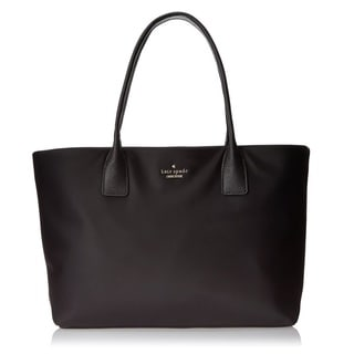 Kate Spade New York Classic Nylon Catie Black Shoulder Bag