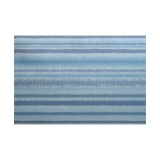 3 x 5-ft, Raya De Agua, Stripe Print Indoor/Outdoor Rug