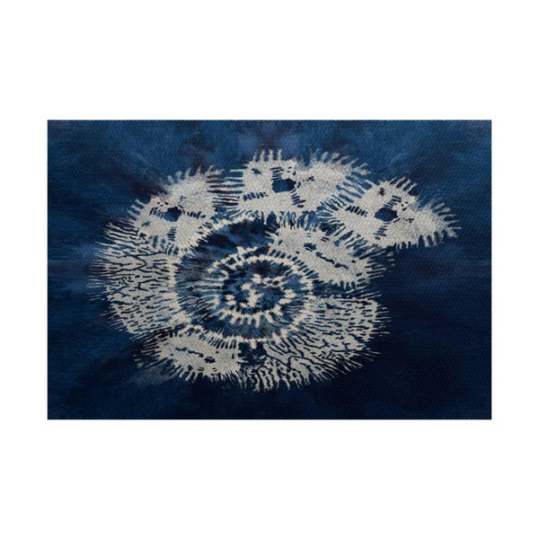 3 x 5-ft, Conch, Animal Print Indoor/Outdoor Rug