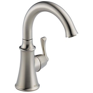 Delta Traditional Single-Handle Kitchen Faucet in Stainless 1914-SS-DST