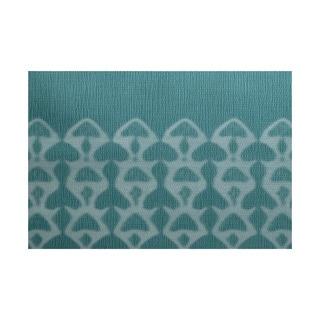 3 x 5-ft, Watermark, Geometric Print Indoor/Outdoor Rug