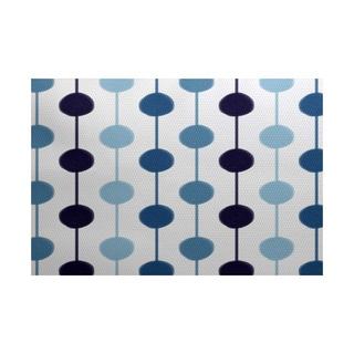 3 x 5-ft, Brady Beads, Stripe Print Indoor/Outdoor Rug