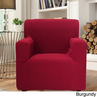 Smart Seam Form-fitting Stretch Chair Slipcover
