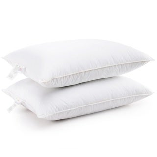 Cheer Collection Hypoallergenic Alternative Down Hollow Fiber Pillow (Set of 2) (2 options available)