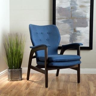 Jasper Mid-Century Fabric Arm Chair by Christopher Knight Home