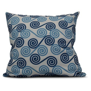 18 x 18-inch, Rip Curl, Geometric Print Pillow