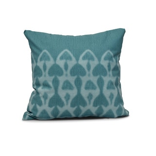 18 x 18-inch, Watermark, Geometric Print Pillow