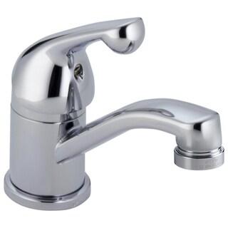 Delta Core Single Hole 1-Handle Basin Faucet in Chrome 570LF-WFHDF
