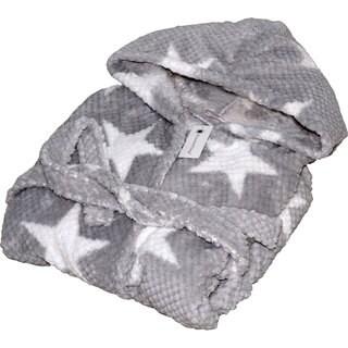 Home Soft Things Star Flannel Bath Robe