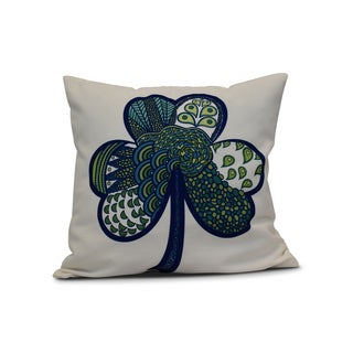 18 x 18-inch, Sham-Tangle, Holiday Floral Print Pillow